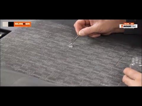 C mo restaurar tapizados de tela y velour youtube - Tela para tapizar techo coche ...