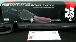 k 57 series generation ii air intake kit installation on jeep wrangler