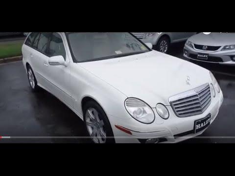 2008 Mercedes Benz E350 4matic Wagon Walkaround Start Up