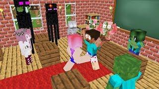 Monster School : LOVE CHALLENGE - Minecraft Animation