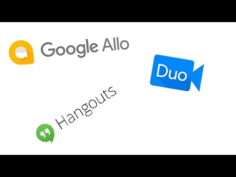 Google Allo vs Google Hangouts | Currently Where they stand