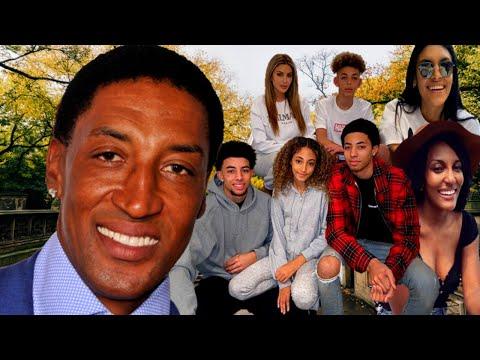 NBA Star Scottie Pippen VERY MESSY Affairs & 7 children (2020)