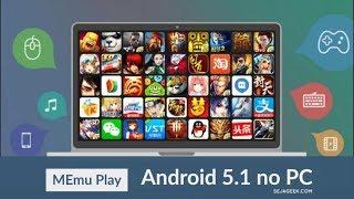 MEMU emulador de android para pc