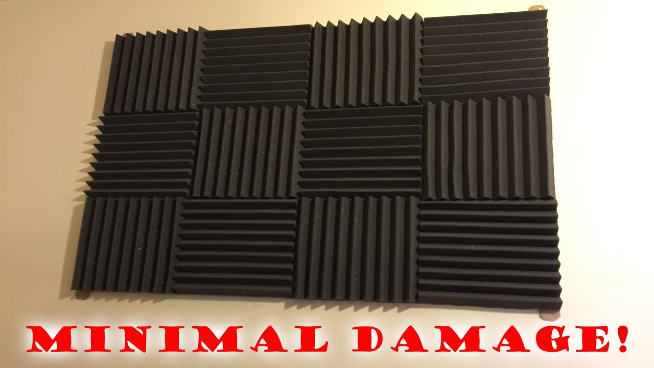 How To Install Sound Proofing Tiles Minimal Damage