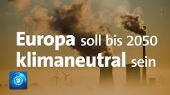 """Der """"Green Deal"""": Die Klimapläne der EU-Kommission"""