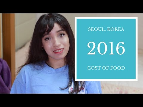 Can You Eat Healthy AND Cheap in Seoul? | Cost of Food #CafeWellness