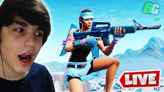 LIVE FORTNITE: SECRET SKIN WAS UNVEILED AND PLAYING WITH SUBSCRIBERS!!!!