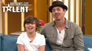 Jack and Tim (BGT) on This Morning (30/4/18)