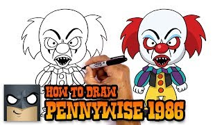 How to Draw Pennywise | 1986 It