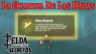 Secretos y Trucos de Zelda Breath of the Wild #86 | La Ocarina de las Hadas (Rumor)