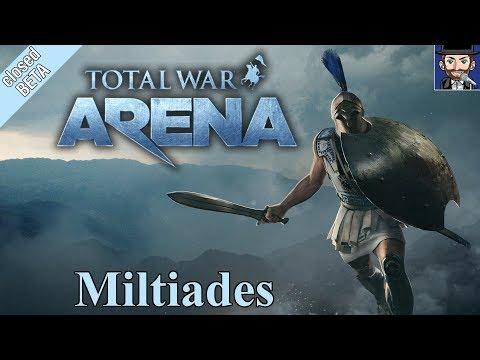 TOTAL WAR - ARENA | Miltiades - Der unkonventionelle Grieche