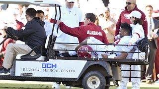 Tua Tagovailoa Injury (FULL VIDEO) | #5 Alabama vs. Mississippi State 2019