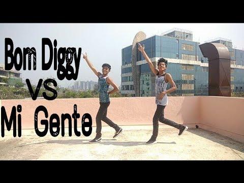 Bom Diggy x Mi Gente   hip hop Dance Choreography   V J DANCE FACTOR
