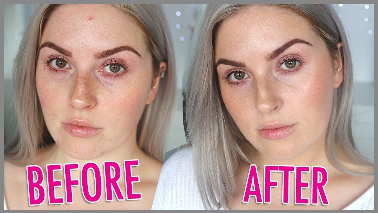 No Makeup Makeup No Foundation Natural Minimal Tutorial Youtube