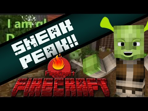 Sneak Peak (If shrek played MC) MC Machinma