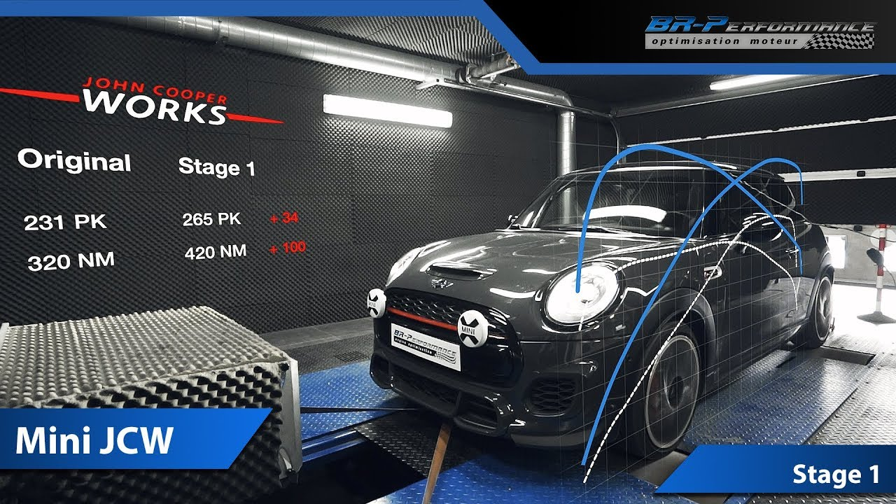Mini Cooper S Jcw 2018 Remap Stage 1 With Eventuri Intake By Br