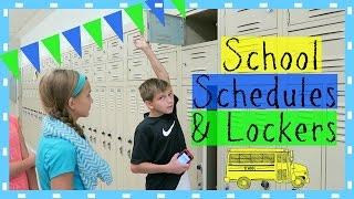 SCHOOL SCHEDULES AND LOCKERS