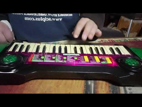 Kawasaki Pro37 Electronic Keyboard w/Box, Musical Toy Good for Circuit  Bending!