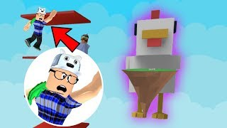 ROBLOX: TRY NOT TO BE ELIMINATED BY THE GIANT CHICKEN!! -Play Old man
