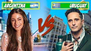 Las 10 diferencias entre Argentina y Uruguay