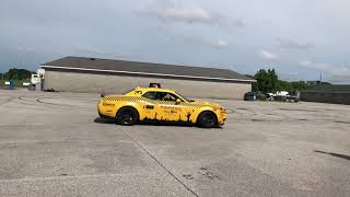 ALEX CHOI IN DEMON TAXI DONUTS AROUND HURACÁN (Gold Rush Rally)