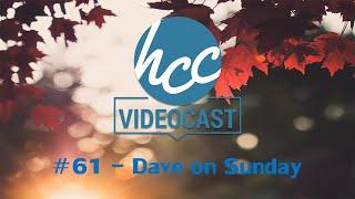 Videocast #61 - Dave on Sunday | 17/05/2020