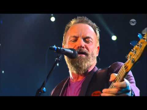 Sting performs at 2016 NBA All-Star Game Halftime Show (HD).