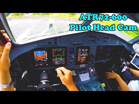 Full Flight ATR72 600 | Real Pilot EYE POV GoPro | Cockpit video | Garuda-Indonesia