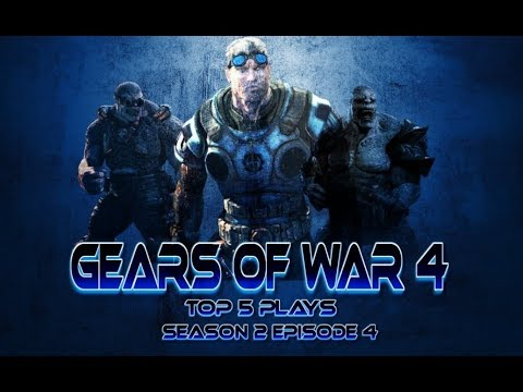 GEARS OF WAR 4 TOP 5 PLAYS $EASON 2 EP.4 ✫ (CASH PRIZES)