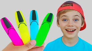 Magic Pen Learn Color with Nick and Poli