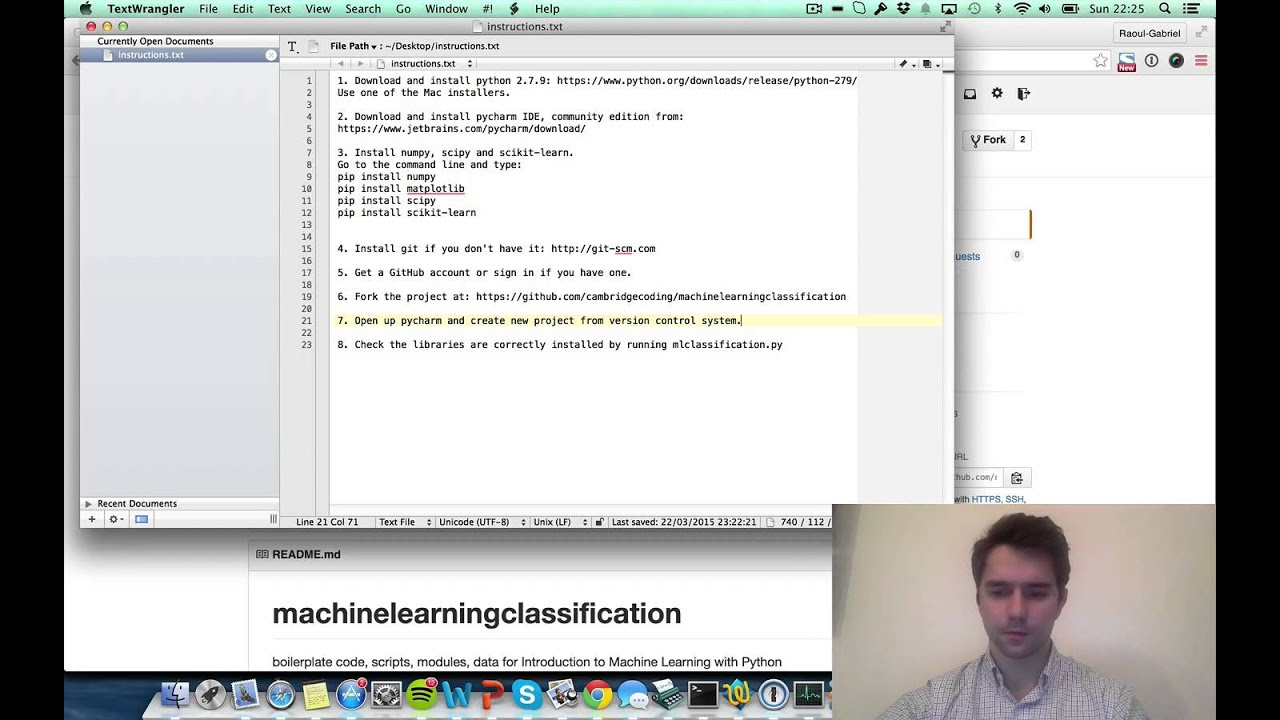 Introduction to Machine Learning with Python - Set up Instructions for Mac