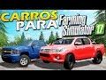 Hilux 2017, FORD F-250 e Chevrolet Silverado - FS17 Mods