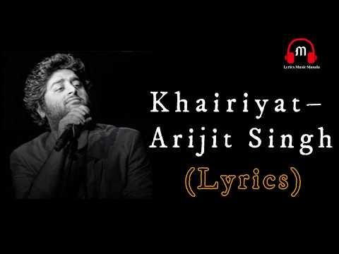 khairiyat-puchho-full-song-lyrics-arijit-singh-chhhichhore-movie- -khairiyat-song-lyrics