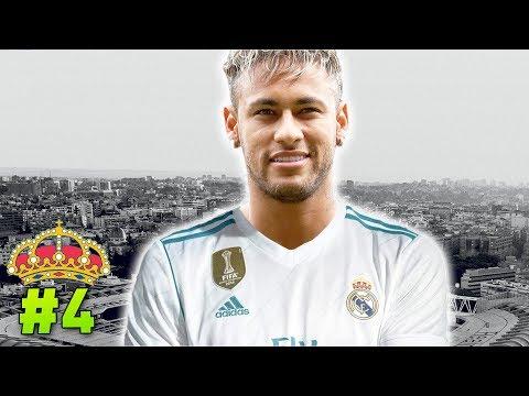 HISTÓRICO! NEYMAR É DO REAL MADRID! 🤑 | Modo Carreira #4 - Real Madrid thumbnail