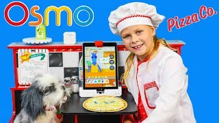 ASSISTANT Plays Osmo Pizza Co and Learns Math by Making Pizza