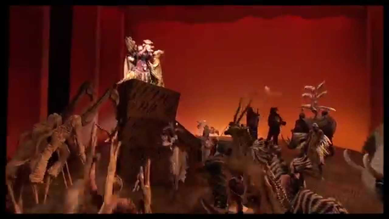The Lion King On Broadway Youtube