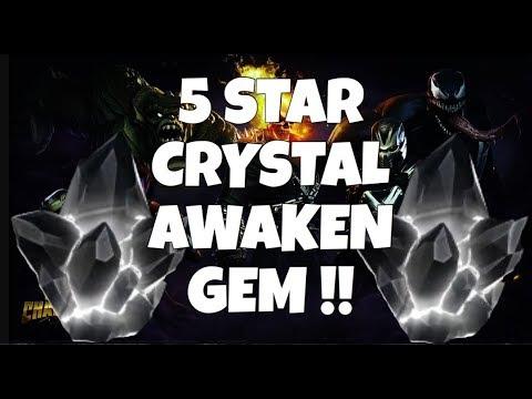 5 STAR AWAKENING GEM CRYSTAL OPENING!!! 1st Labyrinth Run Complete: Marvel Contest of Champions