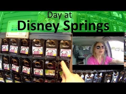 Disney Springs pin Release and trading vlog - Follow me around :)