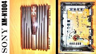 sony XMN1004  4х-канальный усилитель. Краткий взгляд снаружи и внутри