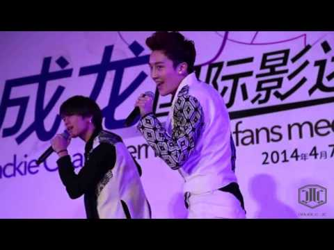 JJCC At Jackie Chan's 60th Birthday