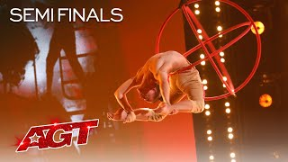Teen Aerialst Aidan Bryant Delivers HIGH-STAKES Aerial - America's Got Talent 2021