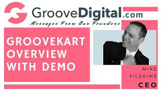 GrooveKart Overview (Review And Demo By Mike Filsaime): Ecommerce Platform... Better Than Shopify?
