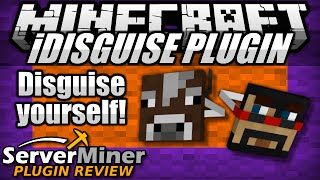How to wear a disguise in Minecraft with iDisguise Plugin