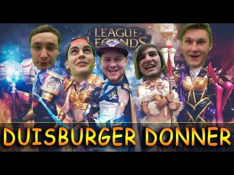 DUISBURGER DONNER - LOL RANKED TEAM mit SplattermanTV BurritoofDoom Crowned Zero & dem geilen Arnold