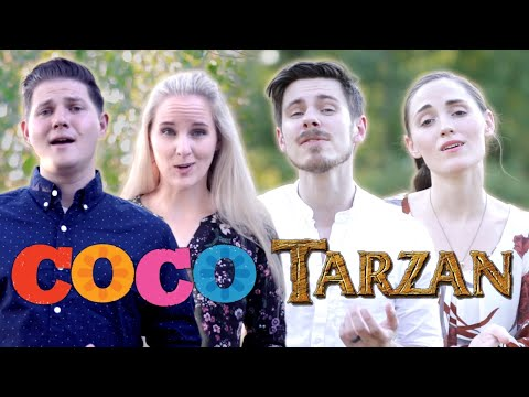 Remember Me / You'll Be In My Heart - Scott & Ryceejo ft The Hound + The Fox - Disney's Coco, Tarzan