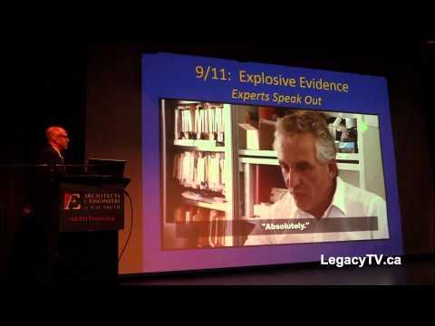 Did you know a 3rd tower fell? Richard Gage Rethink 911 Edmonton, AB Canada seminar (March 16, 2014)