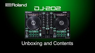 Roland DJ-202 - Unboxing and Contents