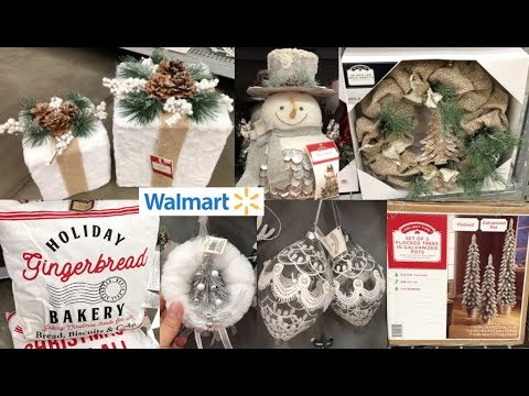 WALMART CHRISTMAS DECOR SHOP WITH ME 2019 🎄
