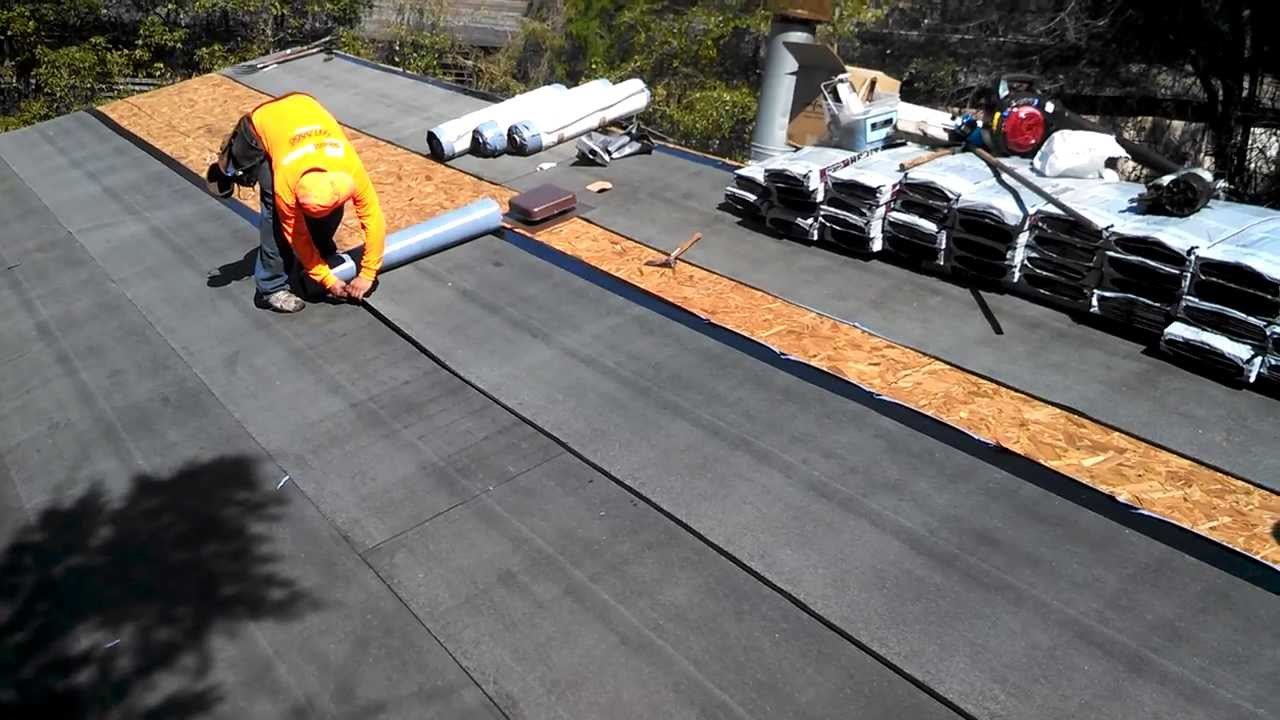 Secondary Water Barrier Roofing Tallahassee Homes Youtube