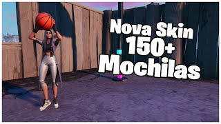 SHOWING THE * NEW * SKIN REBOUND & 150 + BACKPACKS | FORTNITE